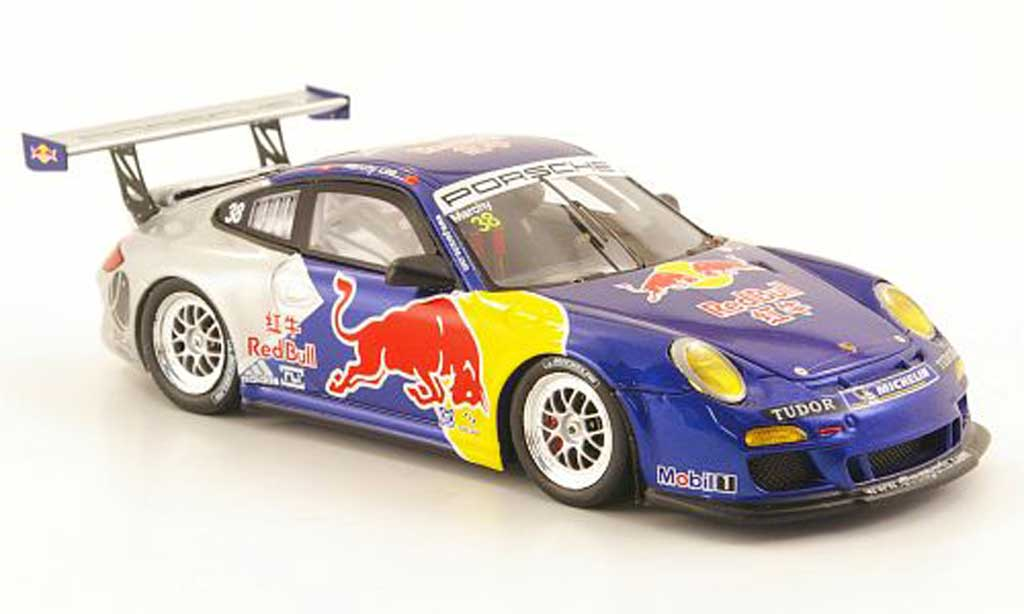 Porsche 997 GT3 CUP 1/43 Spark GT3 Cup 2010 No.38 Red Bull Carrera Cup Asien miniature
