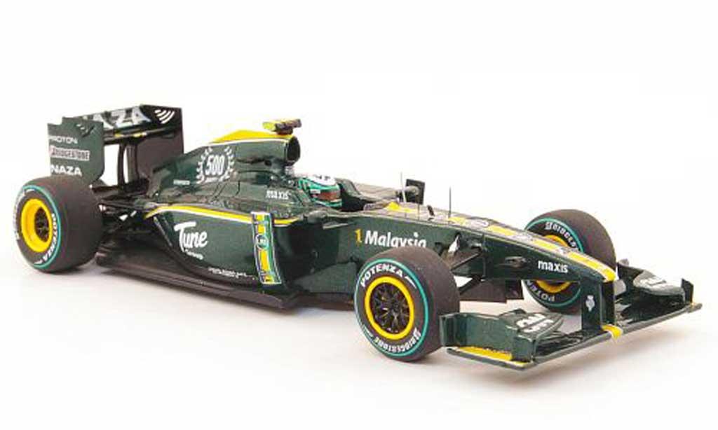 Lotus F1 2010 1/43 Spark T127 No.19 H.Kovalainen GP Europa miniature
