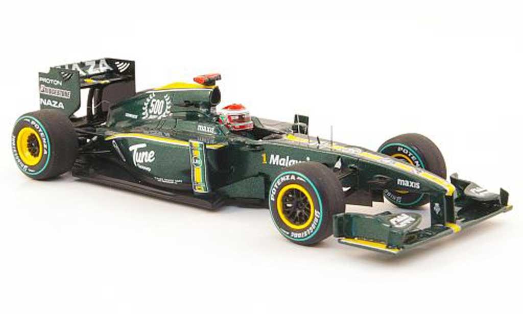 Lotus F1 2010 1/43 Spark T127 No.18 J.Trulli GP Europa miniature