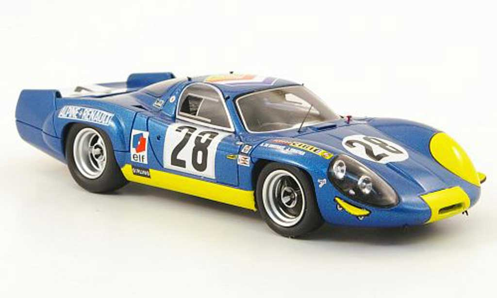 renault alpine a220 miniature 24h le mans 1969 spark 1 43 voiture. Black Bedroom Furniture Sets. Home Design Ideas