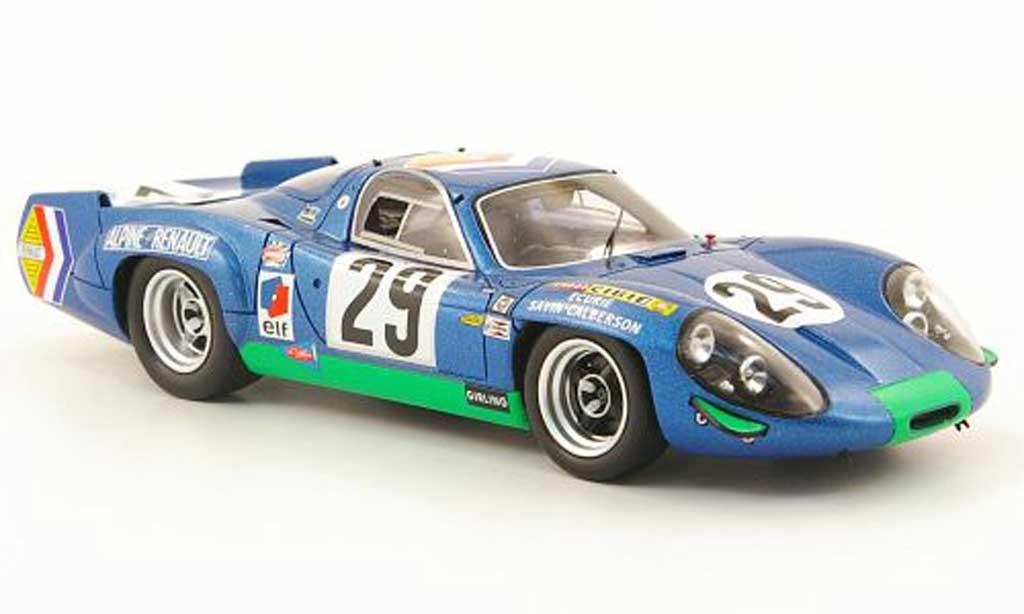 Alpine A220 1/43 Spark No.29 24h Le Mans 1969 diecast model cars
