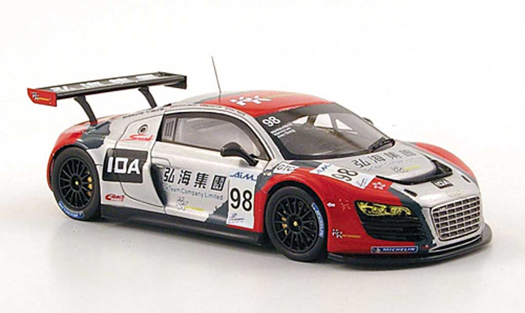 Audi R8 LMS 1/43 Spark No.98 KK Performance ILMC 1000km Zhuhai 2010 miniature