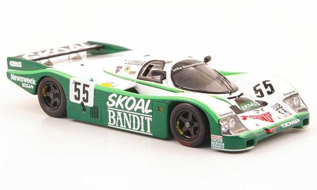 Porsche 962 1984 1/43 Spark C No.55 Skoal 24h Le Mans diecast