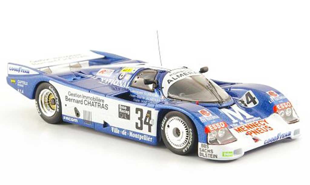 Porsche 962 1989 1/43 Spark C No.34 Almeras 24h Le Mans miniature