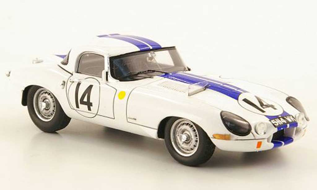 Jaguar E-Type 1963 1/43 Spark 1963 No.14 24h LMans miniature