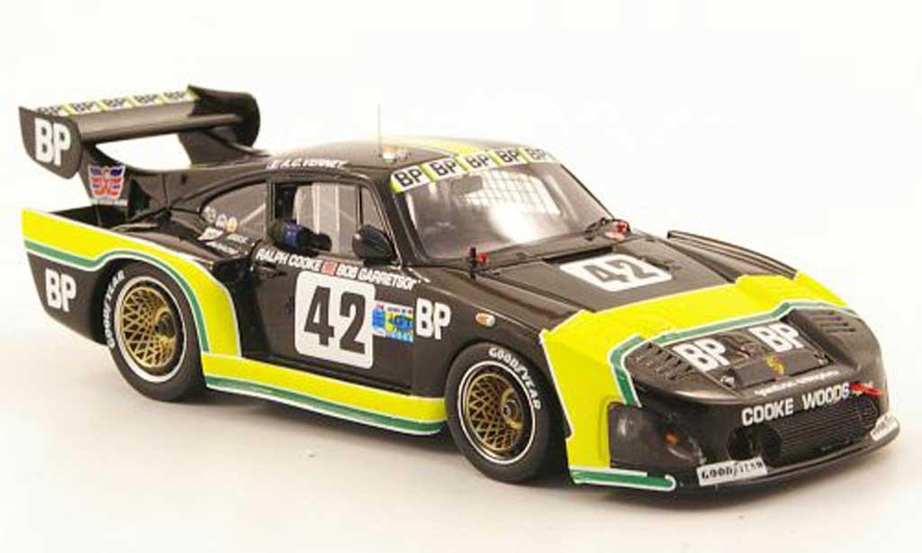 Porsche 935 1981 1/43 Spark K3 No.42 BP 24h Le Mans diecast model cars