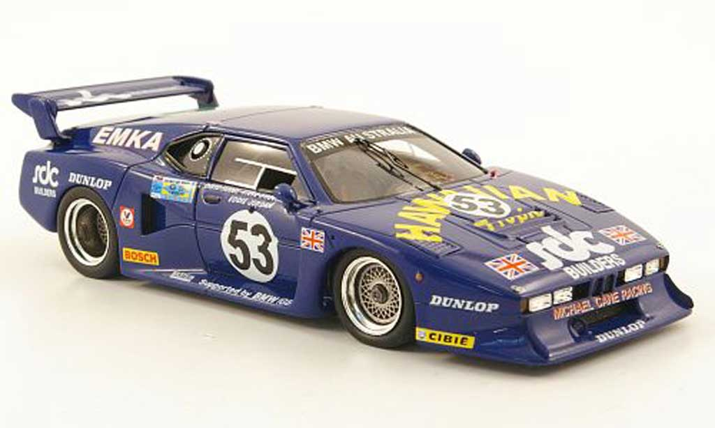 Bmw M1 1981 1/43 Spark No.53 Hawaiian Tropic 24h Le Mans miniature
