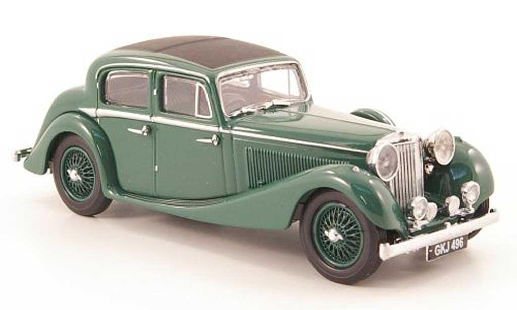 Jaguar SS 1/43 Oxford 2.5 litre grun miniature