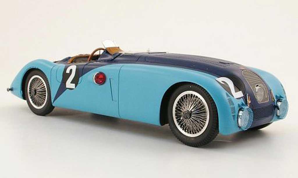 Bugatti 57 G 1/18 Spark no.2 j-p.wimille/r.benoist 24h le mans 1937 miniature