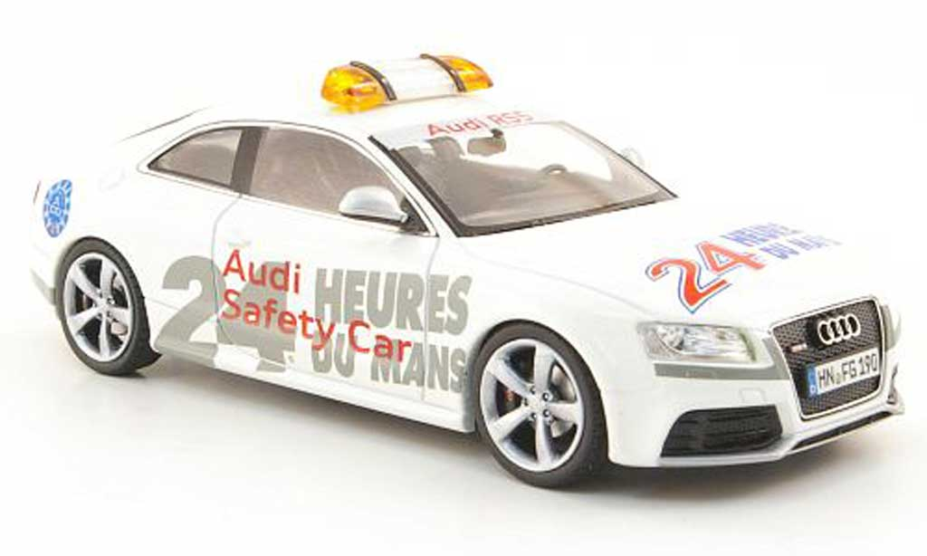 audi rs5 coupe miniature safety car 24h le mans 2010 schuco 1 43 voiture. Black Bedroom Furniture Sets. Home Design Ideas