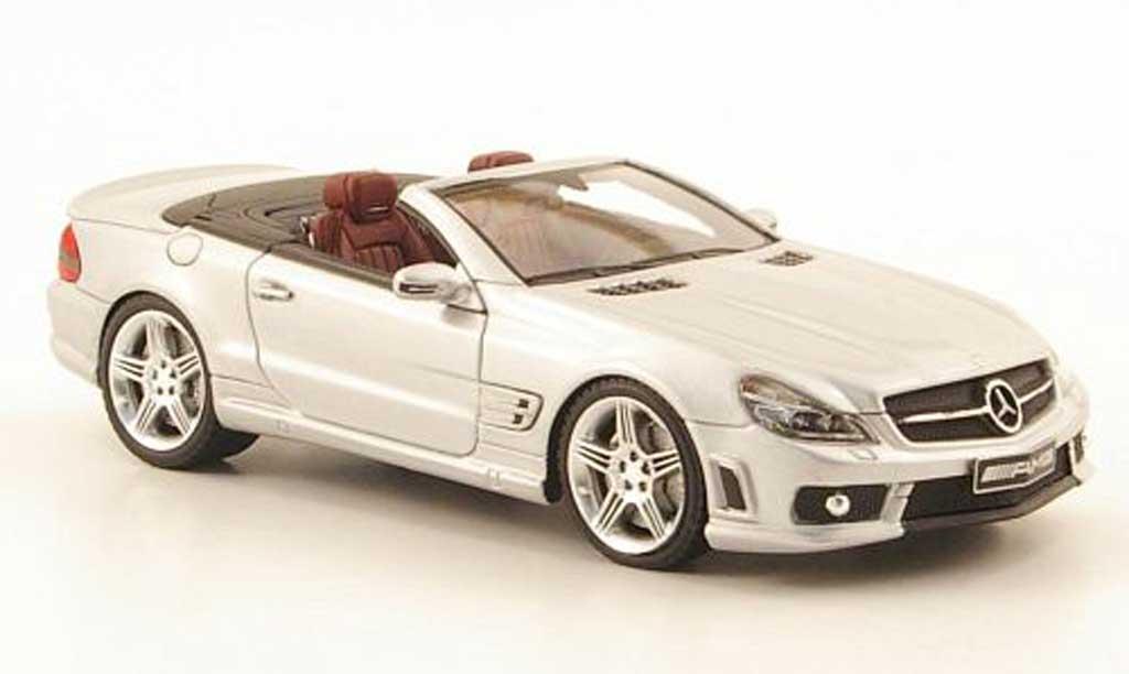 Mercedes Classe SL 65 1/43 Absolute Hot AMG grise  miniature