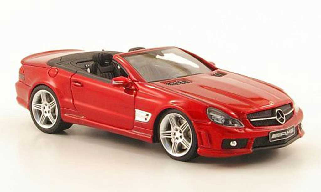 Mercedes Classe SL 65 1/43 Absolute Hot 65 AMG rouge miniature