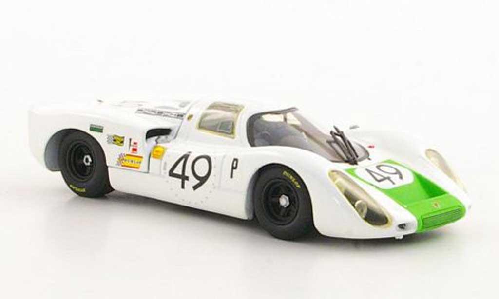 Porsche 907 1968 1/43 Minichamps No.49 J.Siffert / H.Herrmann 12h Sebring miniature