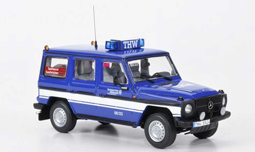 Mercedes 240 1/43 Minichamps GD (W460-461) THW Saarbucken 1991 miniature