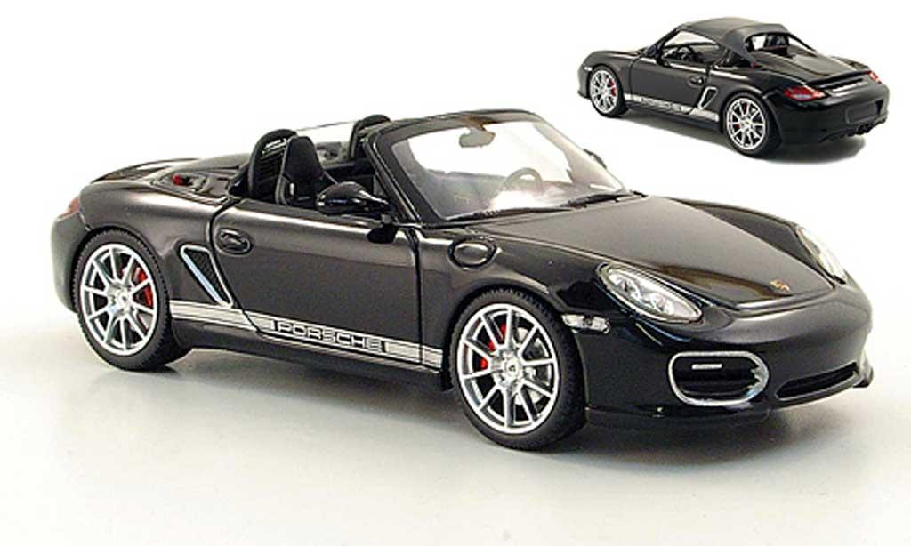 Porsche Boxster 1/43 Minichamps Spyder noire 2010 miniature