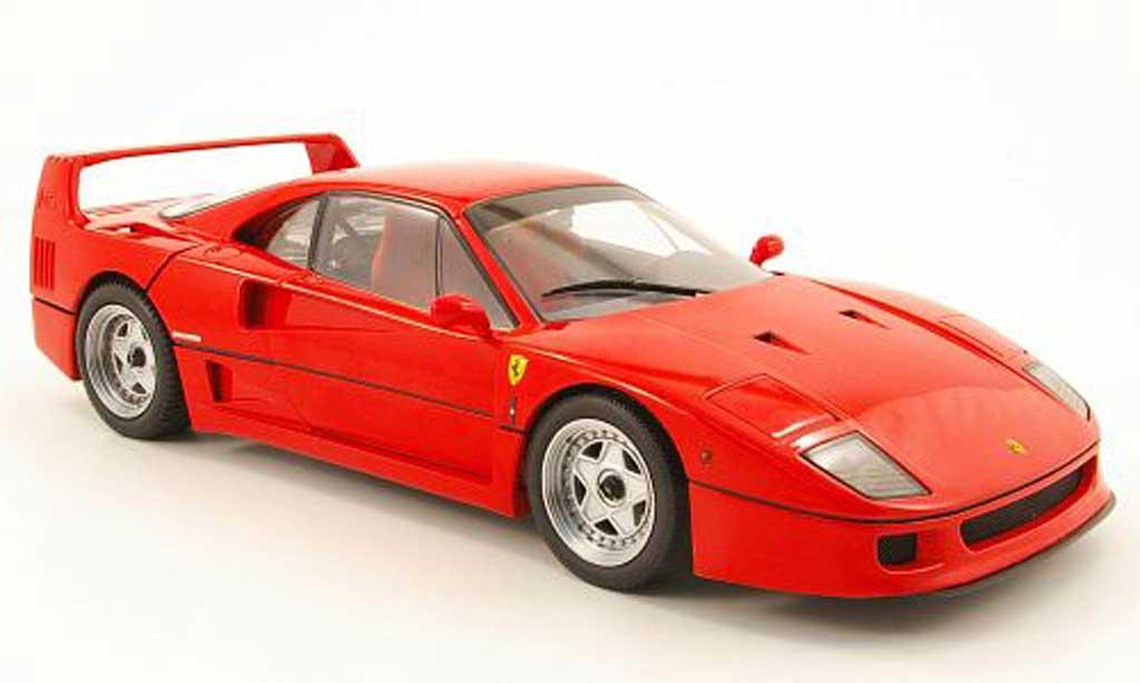 Ferrari F40 1/18 Kyosho rosso 1987 miniatura