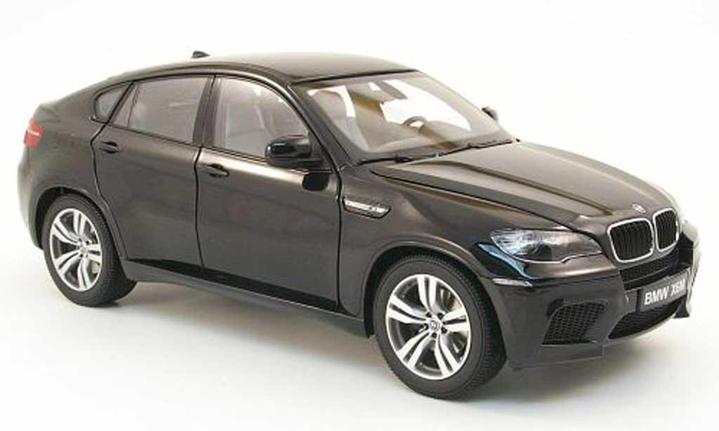 BMW X6 E71 1/18 Kyosho M nero 2009 miniatura