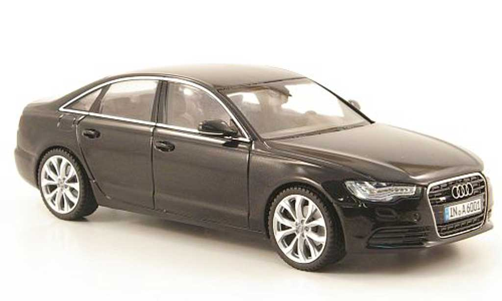 Audi A6 2011 1/43 Schuco (C7) noire 2011 miniature