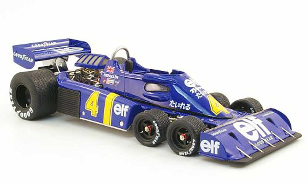 Tyrrell P34 1/18 Kyosho no.4 elf gp japan 1976 p.depailler miniature