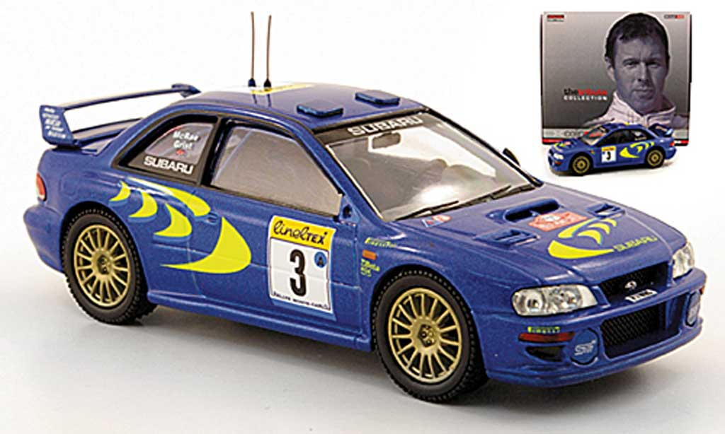 Subaru Impreza WRC 1/43 Vanguards No.3 Rally Monte Carlo 1998 diecast model cars
