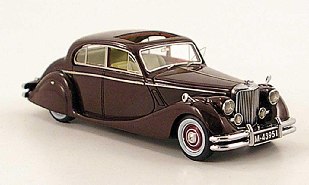 Jaguar Mk 5 Marrone 1950 Neo Modellini Auto 1 43