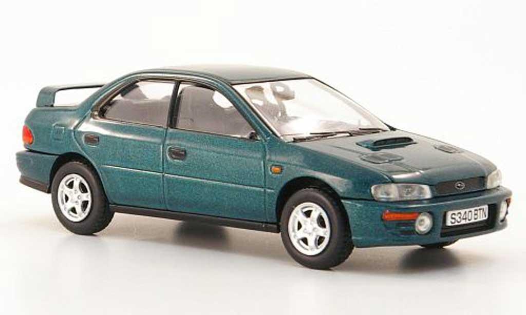 Subaru Impreza 1/43 Vanguards Turbo grun RHD diecast model cars