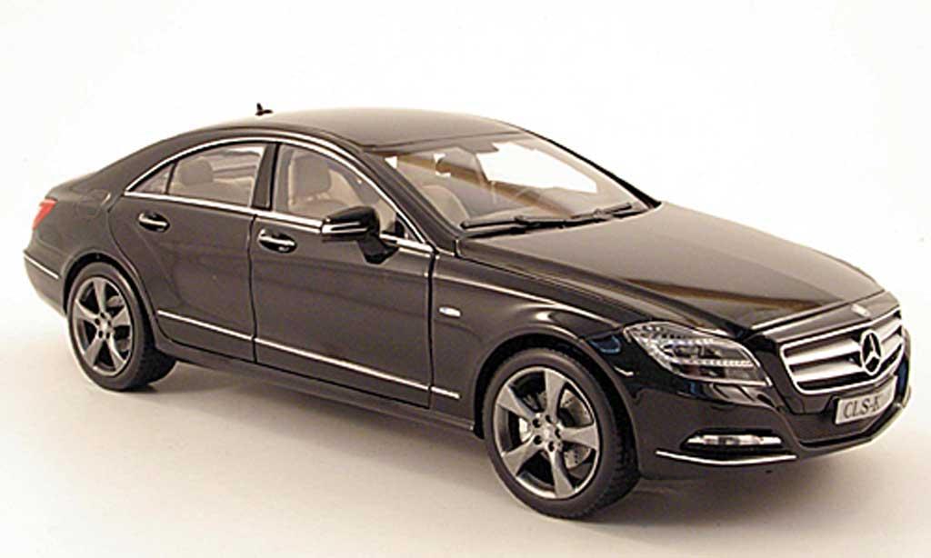 mercedes cls c218 schwarz 2011 norev modellauto 1 18 kaufen verkauf modellauto online. Black Bedroom Furniture Sets. Home Design Ideas