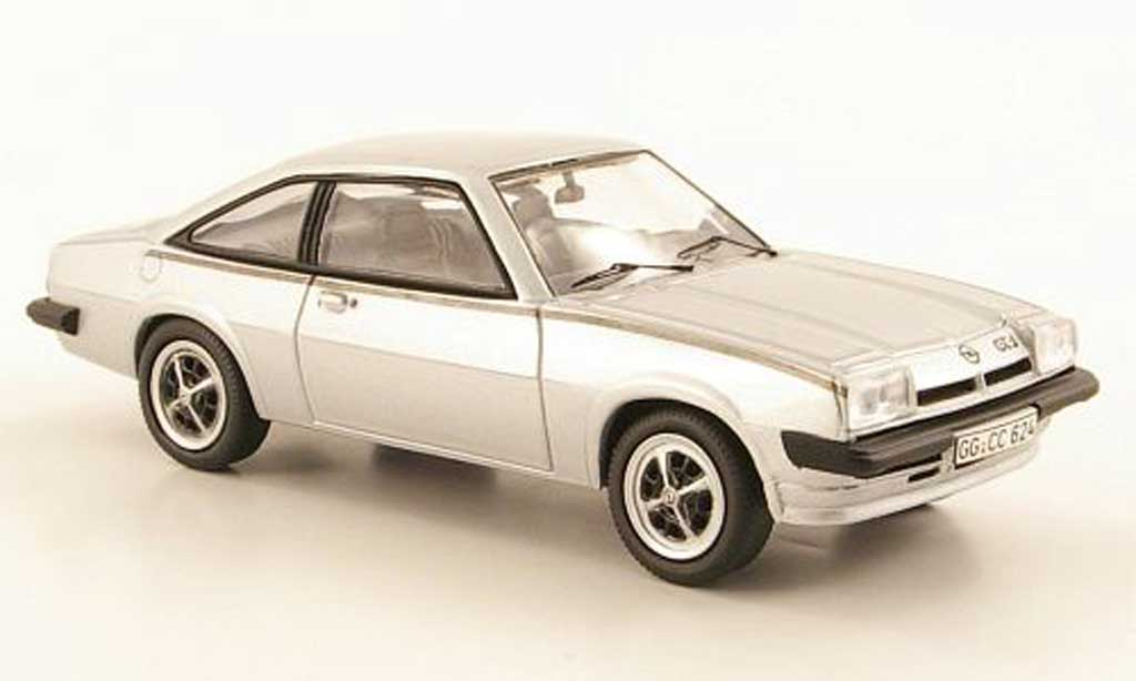 Opel Manta B 1/43 Schuco GT-J grise miniature