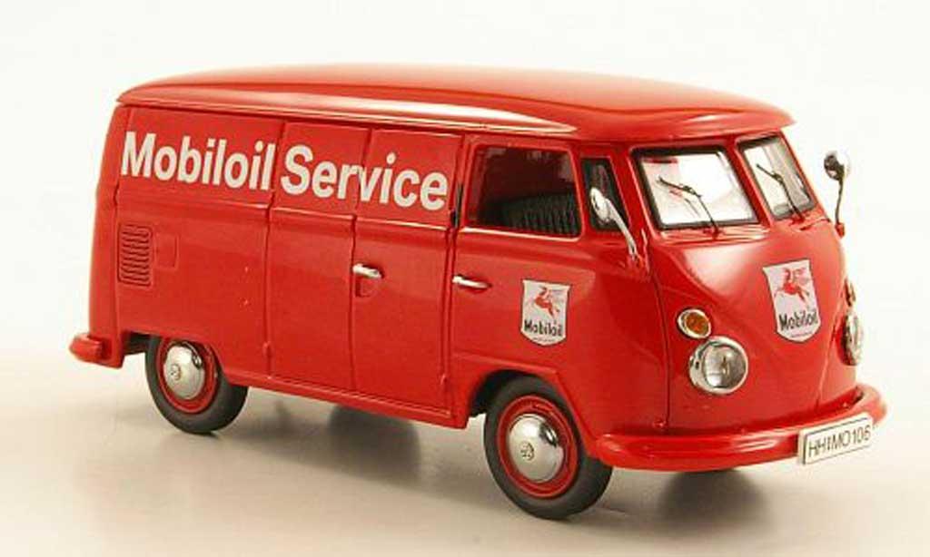 Volkswagen T1 1/43 Schuco Kasten Mobiloil Service miniature