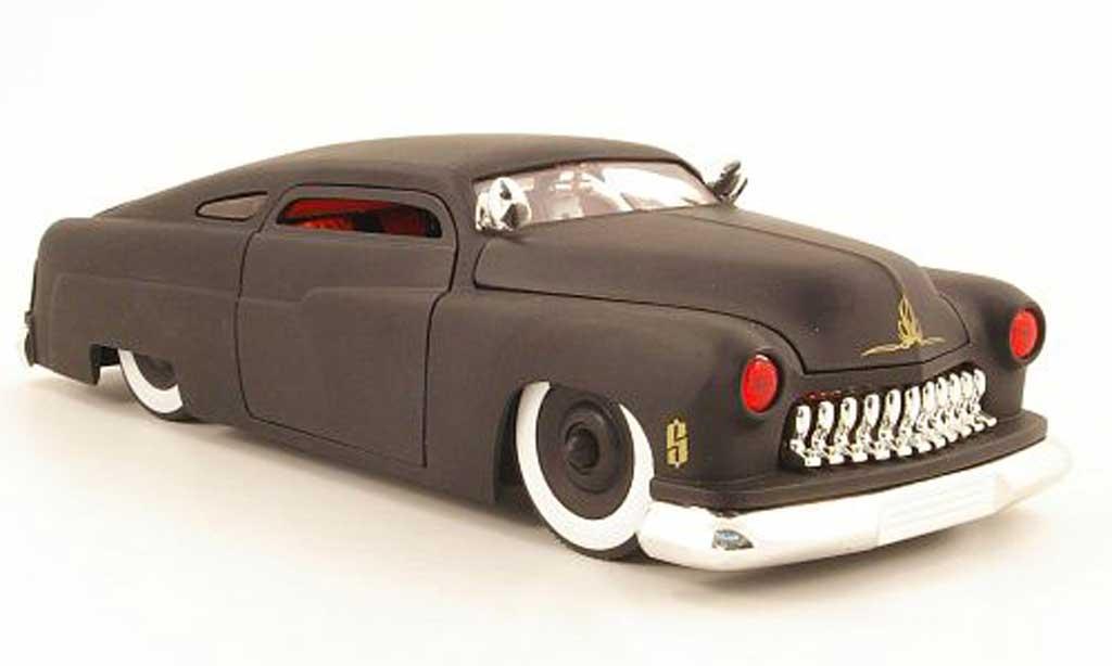 Mercury 1951 1/18 Jada Toys Toys coupe noir mat miniature