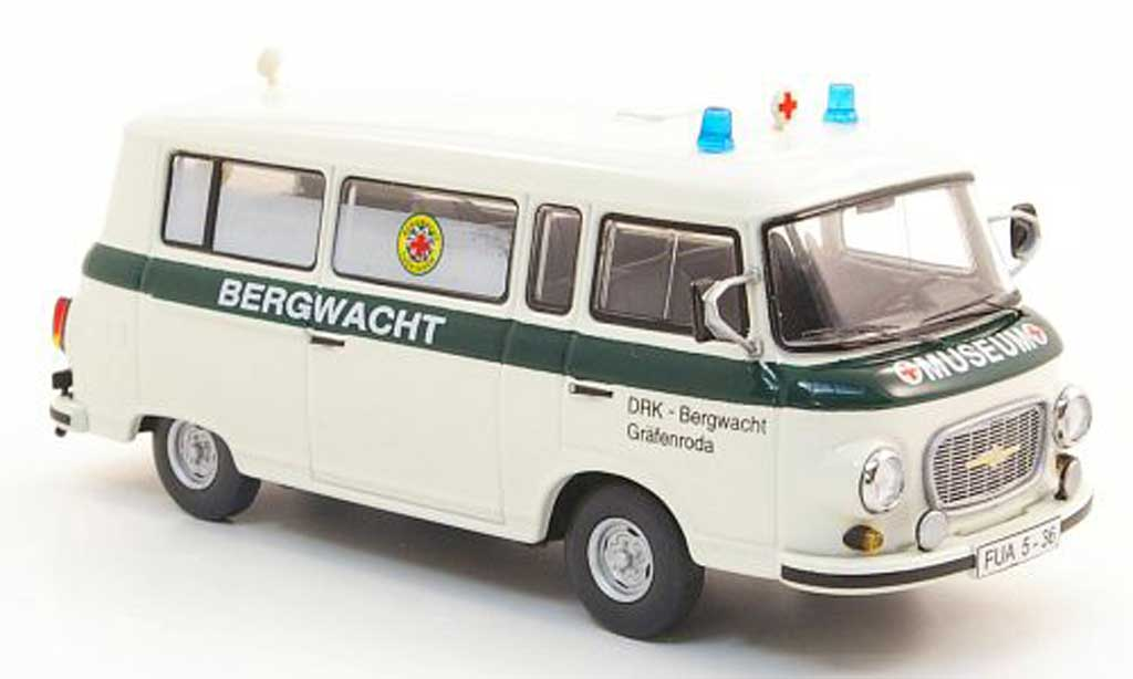 Barkas B 1000 1/43 Schuco Bus DRK Bergwacht Grafenroda diecast model cars