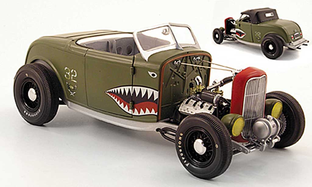 Ford 32 1/18 GMP series aero rat rod grun miniature