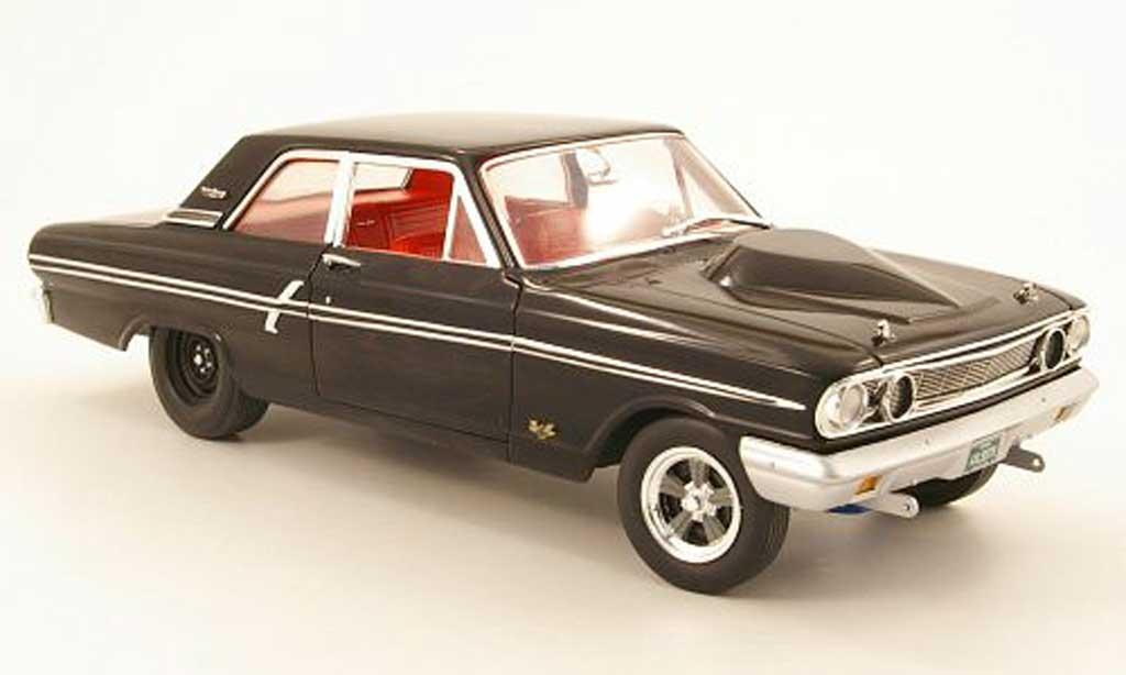 Ford Fairlane 1964 1/18 GMP thunderbolt noire miniature