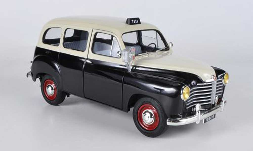 Renault Colorale 1/18 Solido Taxi black/beige 1953 diecast model cars