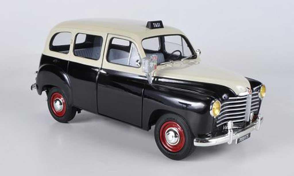 Renault Colorale 1/18 Solido Taxi noire/beige 1953 miniature