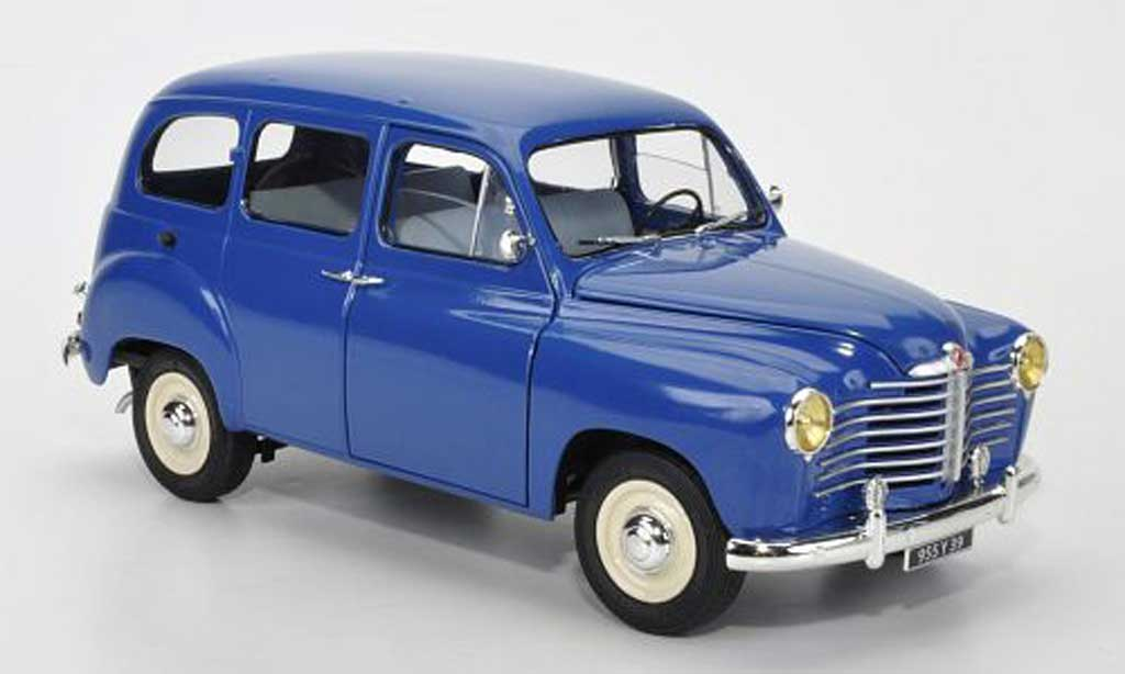 Renault Colorale 1/18 Solido Prairie blue 1953