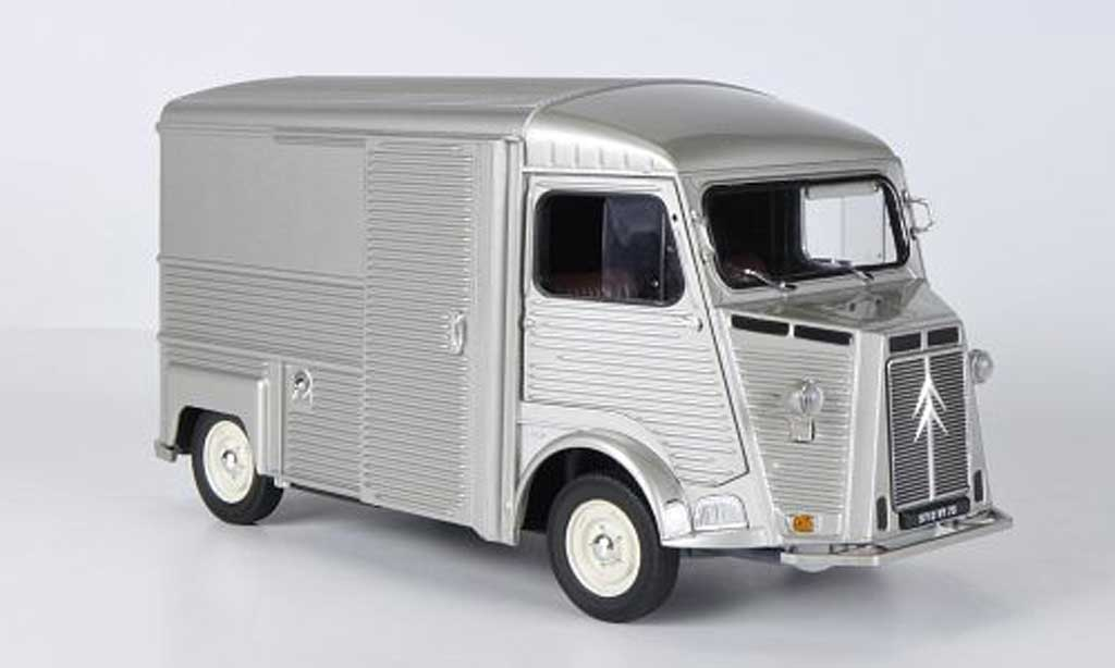citroen hy miniature grise 1969 solido 1 18 voiture. Black Bedroom Furniture Sets. Home Design Ideas