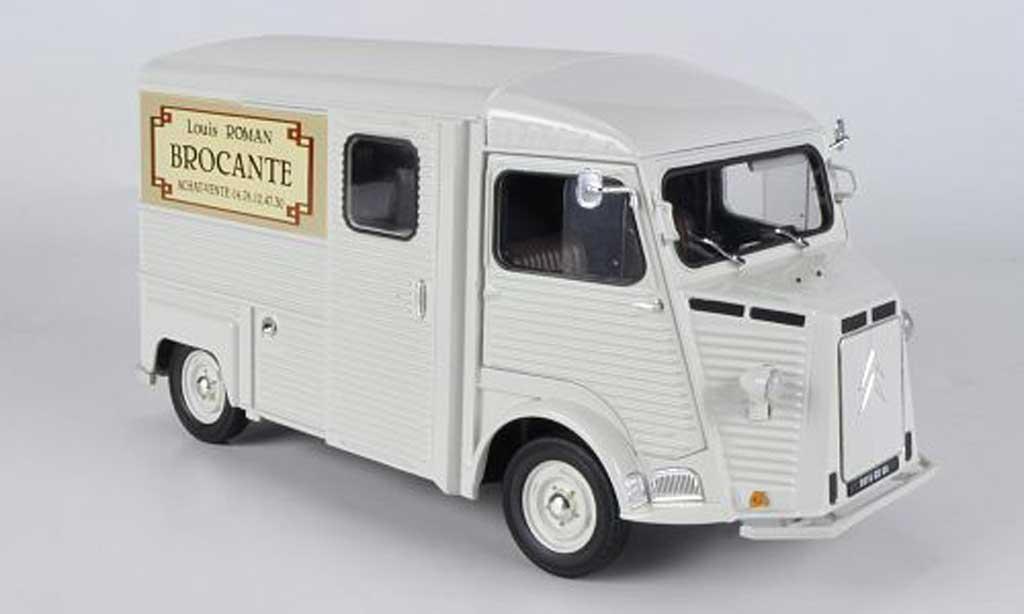 Citroen HY 1/18 Solido Kasten Louis Roman - Brocante 1969 diecast model cars