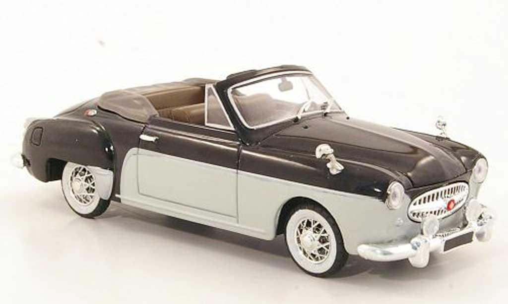 Renault Fregate 1/43 Solido Cabriolet black/white 1956 diecast model cars