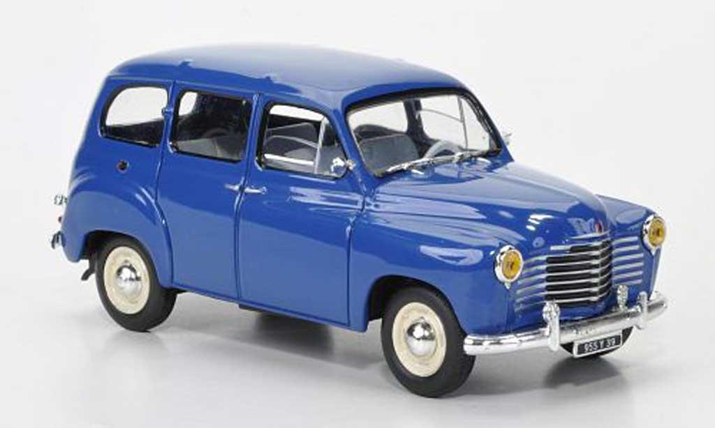 Renault Colorale 1/43 Solido Prairie bleu 1953 miniature