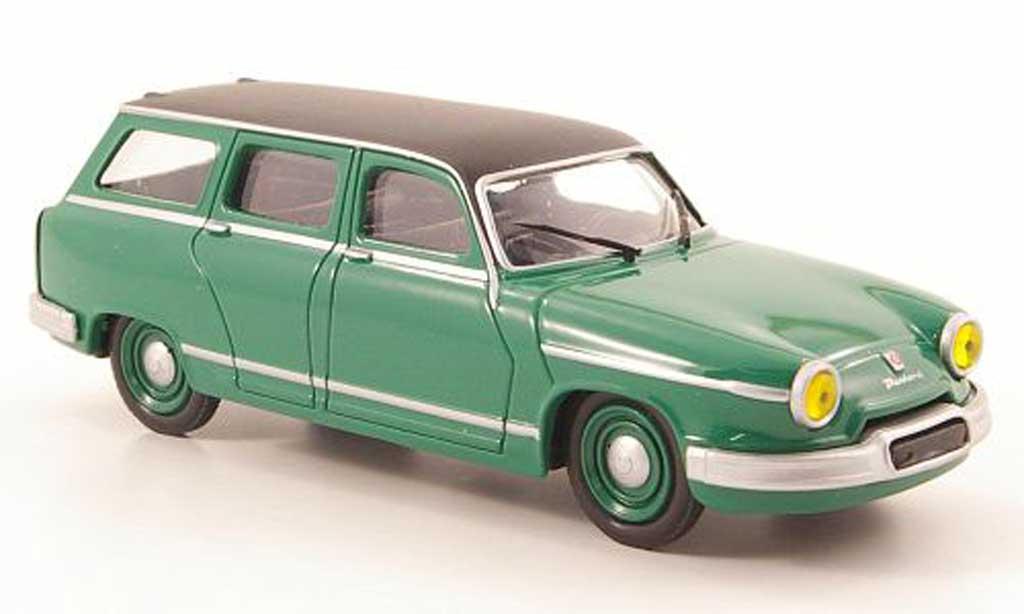 Panhard PL 17 1/43 Solido Break grun/noire 1963 miniature