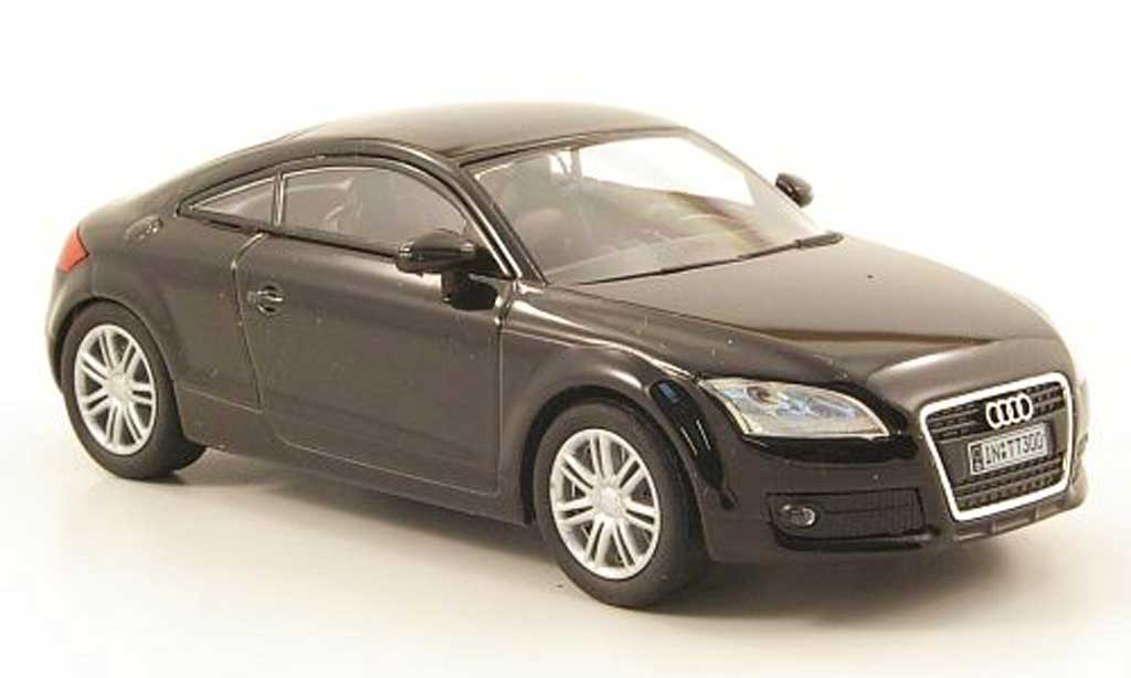Audi TT 1/43 Solido Coupe black 2006 diecast model cars