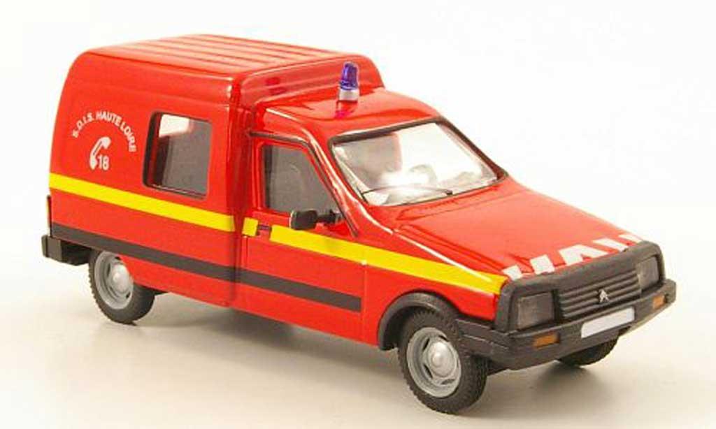 Citroen C15 1/43 Solido pompier 1989 miniature