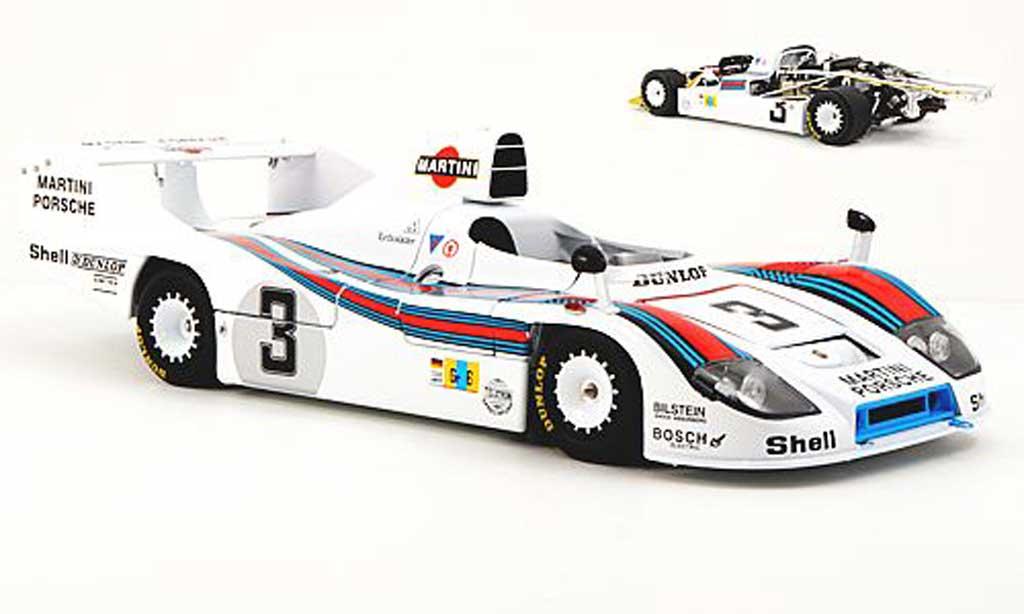 Porsche 936 1977 1/18 TrueScale Miniatures 77 No.3 Martini Racing J.Ickx / H.Pescarolo 24h Le Mans miniature
