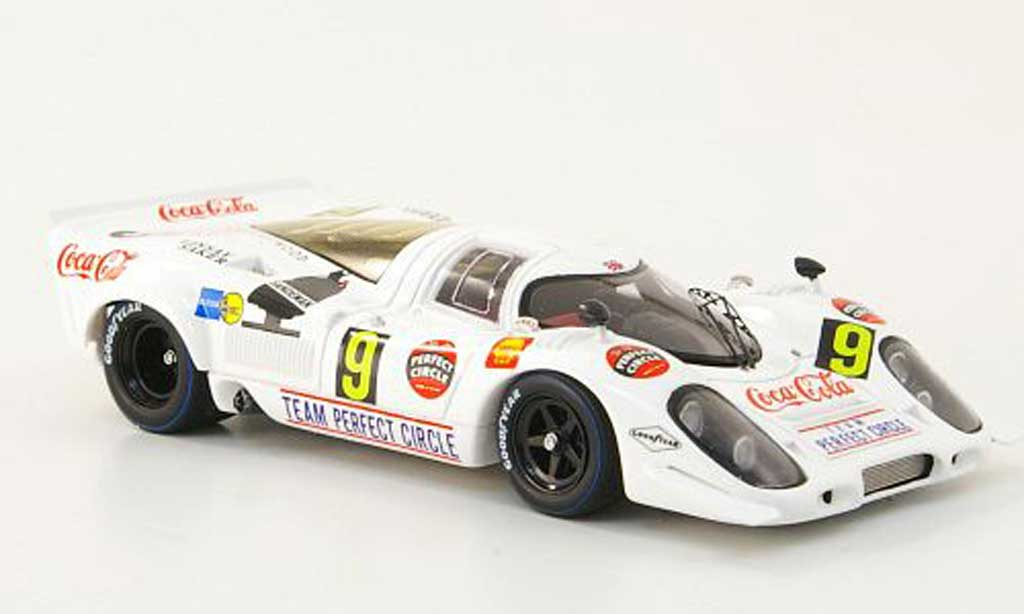 Porsche 917 1969 1/43 TrueScale Miniatures No.9 Team Perfect Circle/Coca-Cola 9h Kyalami modellautos