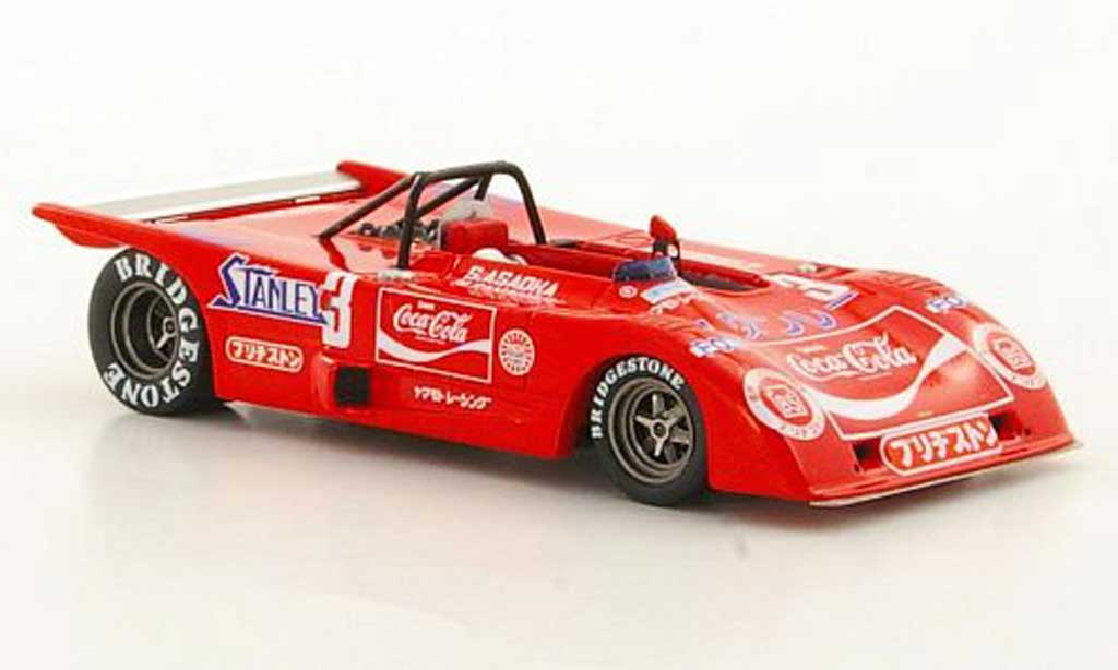 Lola T280 1/43 TrueScale Miniatures HU3 No.3 Coca-Cola N.Takahara / S.Asaoka 1972 modellautos