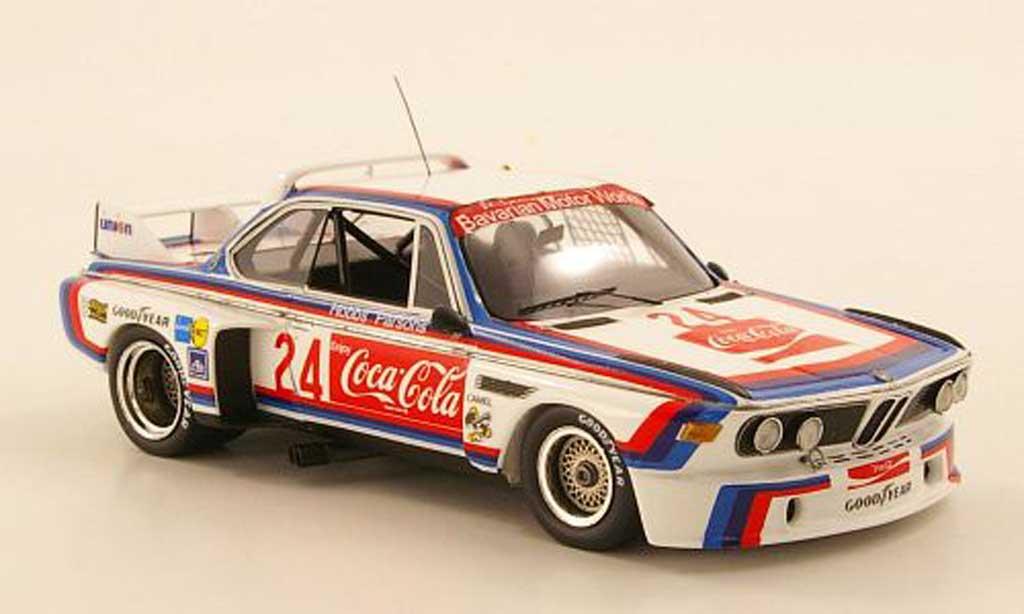Bmw 3.0 CSL No.24 Coca Cola Hobbs / Parsons 24h Daytona 1976 TrueScale Miniatures. Bmw 3.0 CSL No.24 Coca Cola Hobbs / Parsons 24h Daytona 1976 Coca Cola miniature 1/43