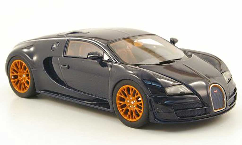 Bugatti Veyron Super Sport 1/43 Look Smart 16.4 blue  2010 diecast
