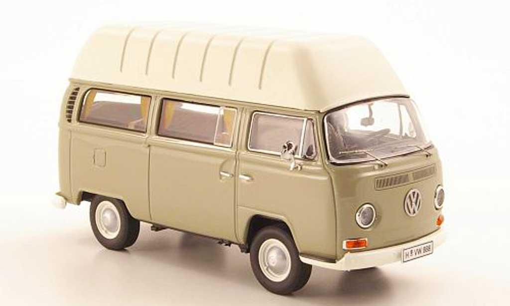 Volkswagen T2 A 1/43 Premium ClassiXXs Camper grise miniature
