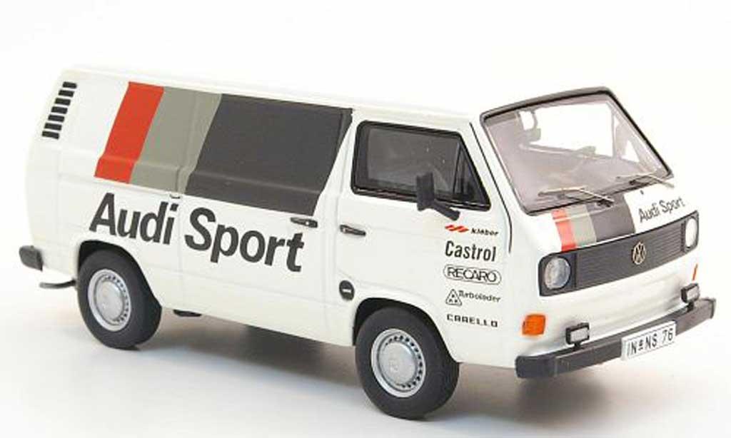 Volkswagen T3 A 1/43 Premium ClassiXXs a Kasten Audi Sport miniature